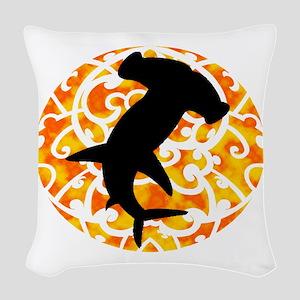 HAMMERHEAD Woven Throw Pillow
