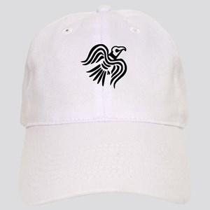 Viking Black Raven Cap