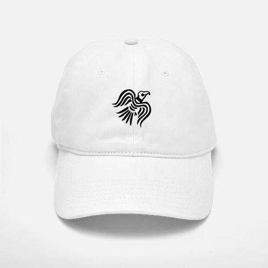 Viking Black Raven Baseball Baseball Cap