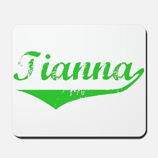 Tianna Vintage (Green) Mousepad