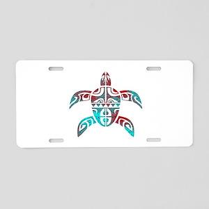 TURTLE Aluminum License Plate