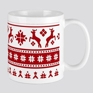 Christmas Holiday Nordic Pattern Cozy Mugs