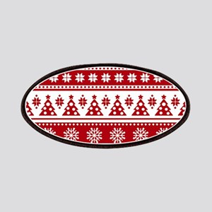 Christmas Holiday Nordic Pattern Cozy Patch
