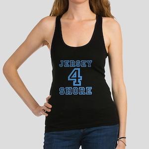 JERSEY 4 SHORE - LITE BLUE Racerback Tank Top