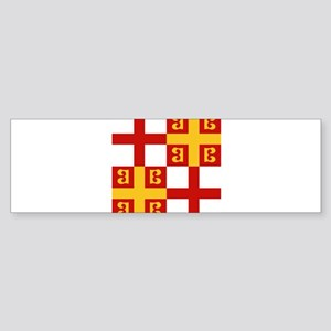 Byzantine Empire Flag Bumper Sticker