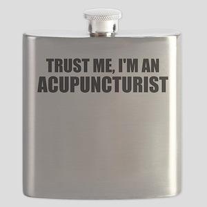 Trust Me, I'm An Acupuncturist Flask