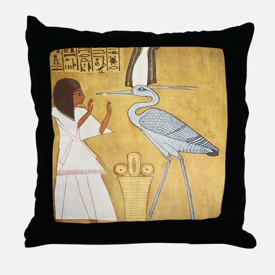 Cute Ramesses Throw Pillow