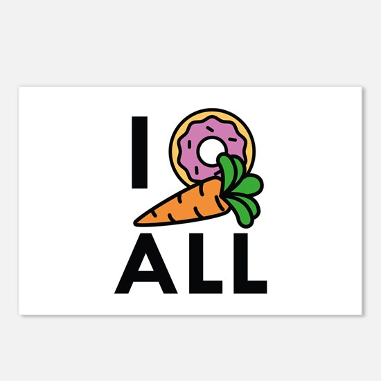 I Donut Carrot All Postcards (Package of 8)