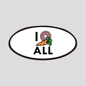I Donut Carrot All Patches