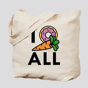 I Donut Carrot All Tote Bag