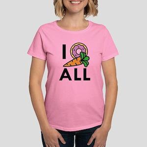 I Donut Carrot All Women's Dark T-Shirt