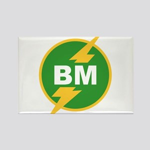 BM Best Man Rectangle Magnet