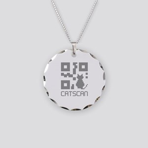 Catscan Necklace Circle Charm