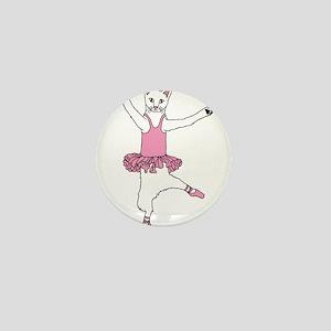 Cat Ballet Dancer Mini Button