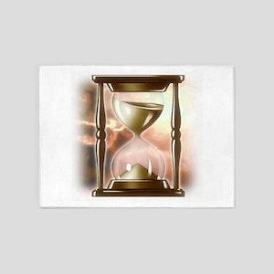 Hourglass 5'x7'Area Rug