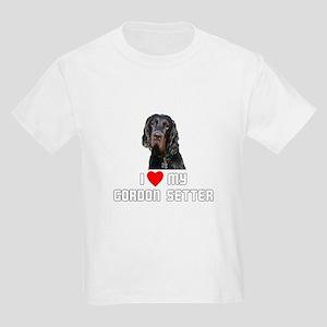 I love My Gordon Setter Kids Light T-Shirt