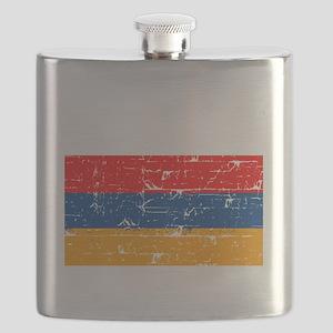 Armenian flag designs Flask