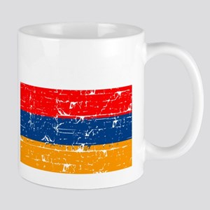 Armenian flag designs Mugs