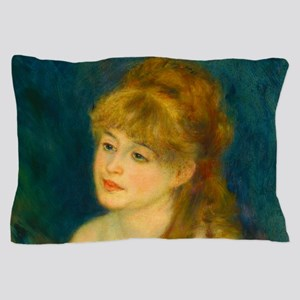 Youn Woman Braiding her Hair by Auguste Renoir Pil