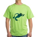 Blue Squid Green T-Shirt