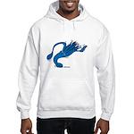 Blue Squid Hooded Sweatshirt