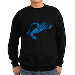Blue Squid Sweatshirt (dark)