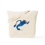 Blue Squid Tote Bag