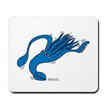 Blue Squid Mousepad