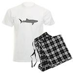 Whale Shark Men's Light Pajamas