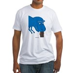 T-Rex Pet Fitted T-Shirt