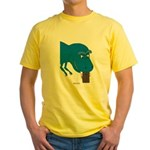 T-Rex Pet Yellow T-Shirt