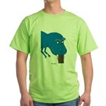 T-Rex Pet Green T-Shirt