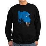 T-Rex Pet Sweatshirt (dark)