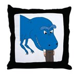 T-Rex Pet Throw Pillow