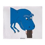 T-Rex Pet Throw Blanket