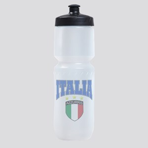 Italia azzurris star Sports Bottle