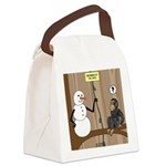 T-Rex of the Apes Canvas Lunch Bag