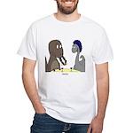 T-Rex Dining White T-Shirt