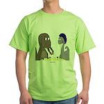 T-Rex Dining Green T-Shirt