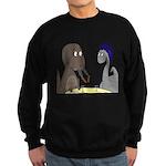 T-Rex Dining Sweatshirt (dark)