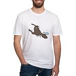 T-Rex Tennis Fitted T-Shirt