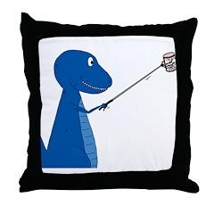 T-Rex Tools Throw Pillow