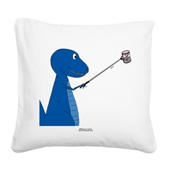 T-Rex Tools Square Canvas Pillow