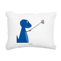 T-Rex Tools Rectangular Canvas Pillow