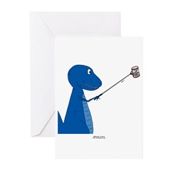 T-Rex Tools Greeting Cards (Pk of 10)