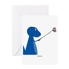 T-Rex Tools Greeting Card