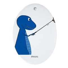 T-Rex Tools Oval Ornament