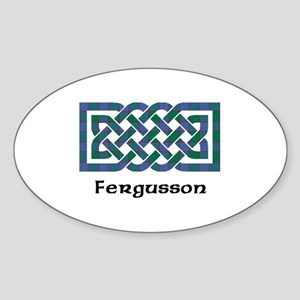 Knot - Fergusson Sticker (Oval)