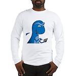 T-Rex Texting Long Sleeve T-Shirt