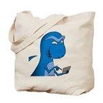T-Rex Texting Tote Bag